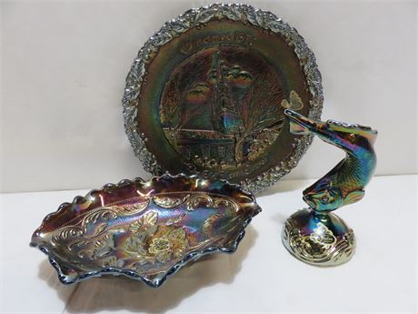 FENTON Carnival Glass Lot