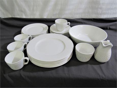 Diamondstone Laveno - Italy Dinnerware Lot - 28 Pieces