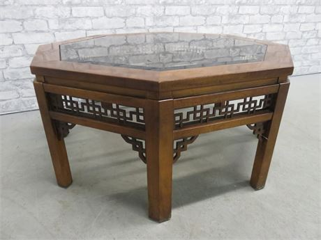 Asian Style Octagon Coffee Table