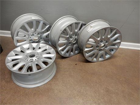Genuine BMW - Light Alloy Silver Rims
