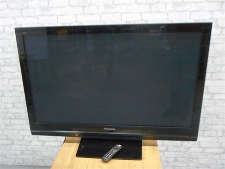 "PANASONIC 50"" FLAT PANEL PLASMA TV WITH REMOTE"