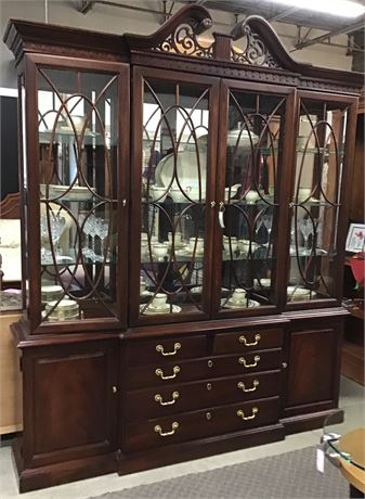 Traditional China Cabinet NEW PRICE!