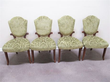 BEAUTIFUL VINTAGE DINING CHAIRS
