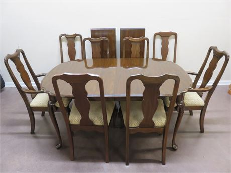 HARDEN Queen Anne Dining Table Set