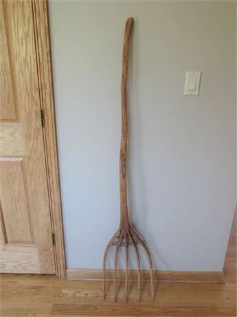 Antique/Vintage Hay/Pitch Fork