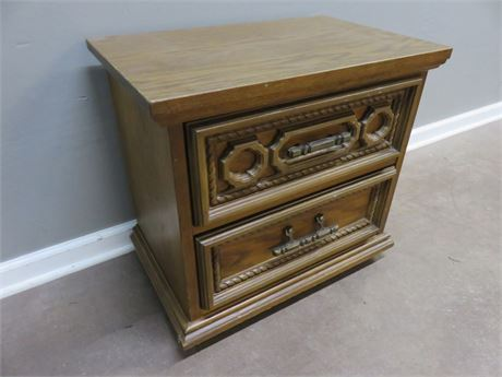 BASSETT FURNITURE Spanish Martinique Nightstand