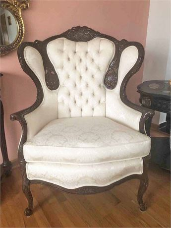 Rococo Wing Back Chair