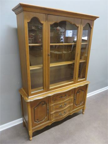 BASSETT Cavelo Dior Cherry Marquise China Hutch