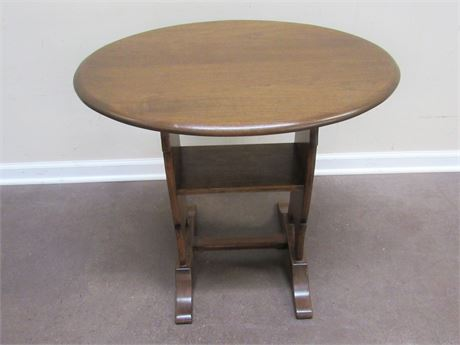 OVAL END/SIDE TABLE