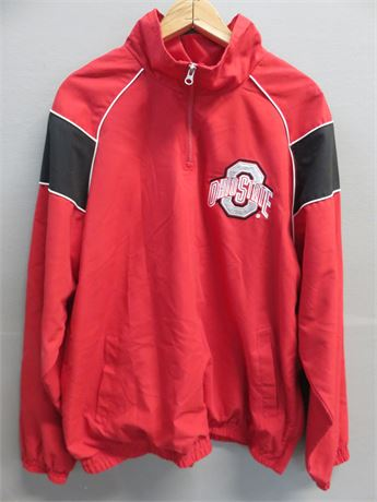 OHIO STATE BUCKEYES Men's 1/4 Zip Windbreaker Pullover