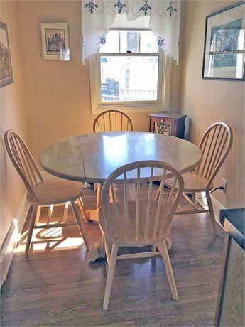 Drop Leaf Kitchen Table Set