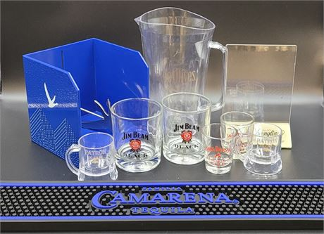 Various Home or Professional Bar Necessities