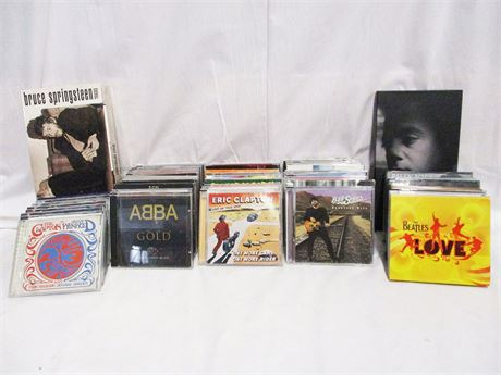 LOT OF OVER 50 CDs