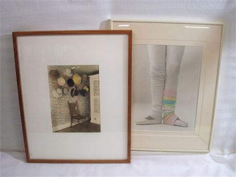 2 SIGNED AND NUMBERED FRAMED ARTWORKS