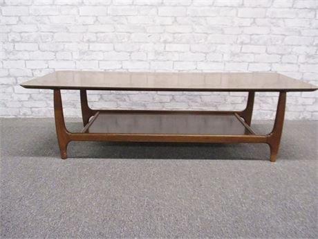 MID-CENTURY MODERN COFFEE TABLE BY HORNER MFG.