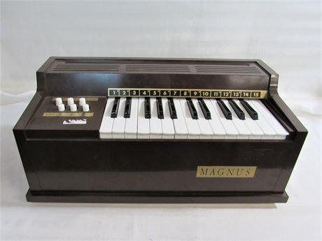 Vintage Child's Magnus Model 300 Electric Cord Organ