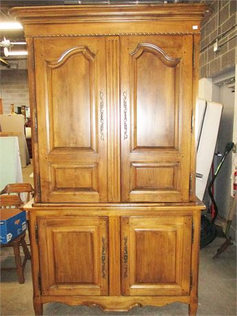 "GORGEOUS LEXINGTON ""SOUTHERN LIVING COLLECTION"" ARMOIRE"