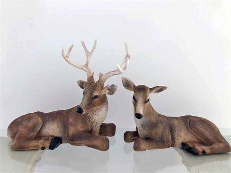Deer Sculpture Lot