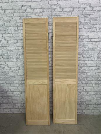 Pair of  Louver Door