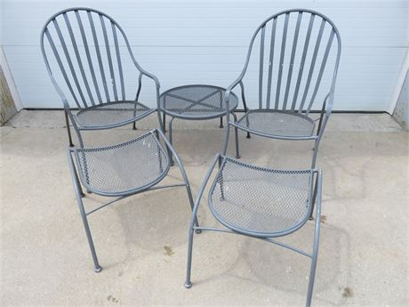 5-Piece Wrought Iron Patio Set