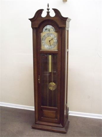 1976 HOWARD MILLER GRANDFATHER CLOCK