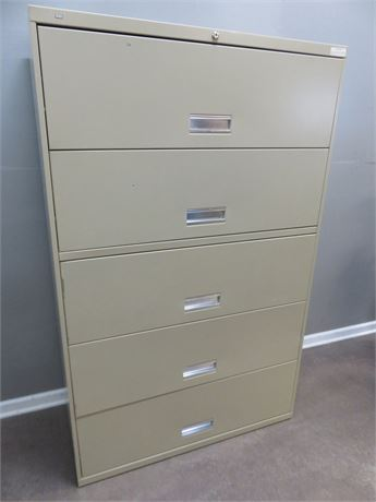 HON Metal Lateral Filing Cabinet