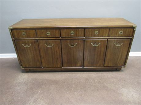 Vintage 1970's Drexel Heritage Accolade Collection Buffet/Sideboard on Casters