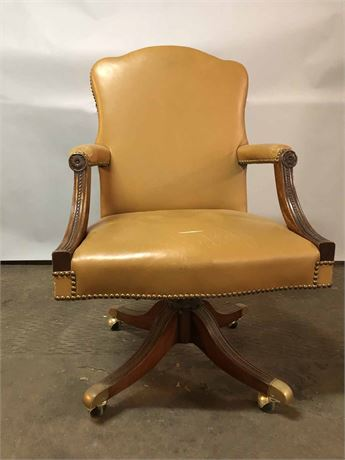 Wood & Hogan Leather Executives Chair