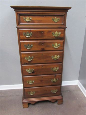 Nice Solid Wood Semainier/7 Drawer Lingerie Chest