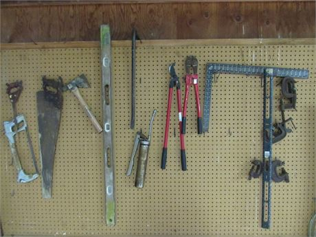 Misc. Tool Lot - 16 Pieces