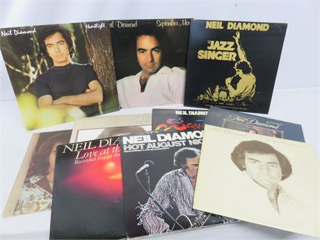 Vintage NEIL DIAMOND Record Album Lot
