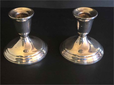 Towle Sterling Silver Candle Holders