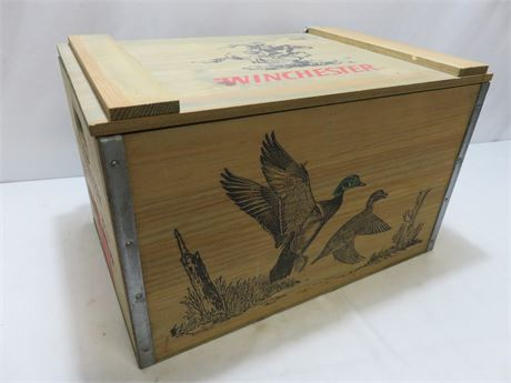 Vintage WINCHESTER Wooden Box Crate