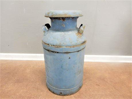 Antique Orrville Milk Company Metal Milk Can