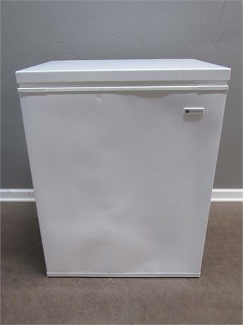 Small White-Westinghouse Chest Freezer