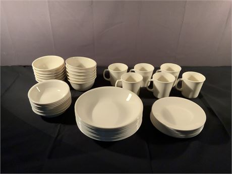 54-Piece CORELLE Winter Frost Lot