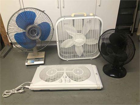 Household Fan Lot