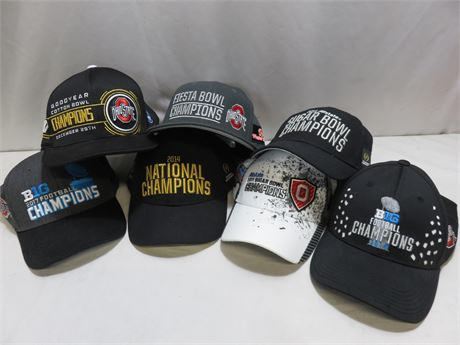 OHIO STATE BUCKEYES Championship Hat Collection