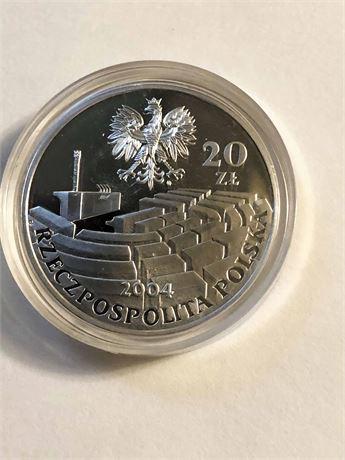 Poland Collector's Coin 15th Anniversary of the Senate