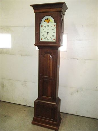 "EXCELLENT HOWARD MILLER ""DELAWARE"" GRANDFATHER CLOCK MODEL 610-627"
