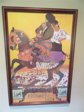 Prima Vera 1934 Promotional Poster