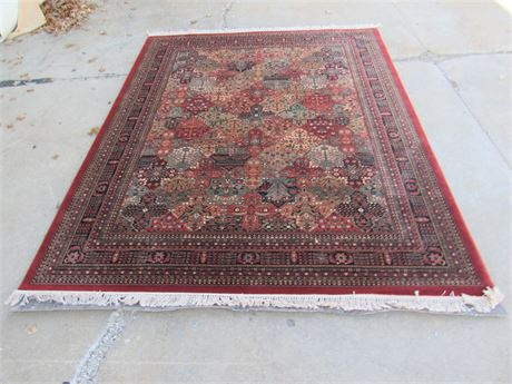 Couristan The Kashimar Collection Semi-worsted 100% New Zealand Wool Persian Rug