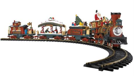 NEW BRIGHT Holiday Express Animated Train Set