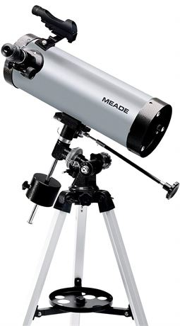 """MEADE 4.5"""" EQUATORIAL REFLECTING TELESCOPE WITH BOX"""