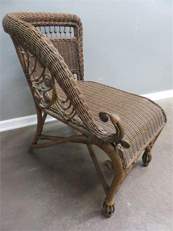 Wicker Chaise Chair