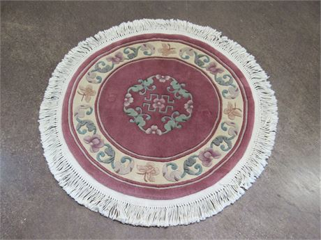 Fragrant Hills Small Round Oriental/Asian Rug