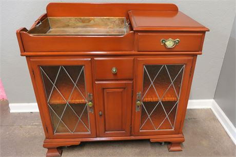 Kitchen Wash Stand with Copper Tray
