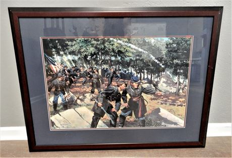 Keith Rocco Signed Framed and Matted Print