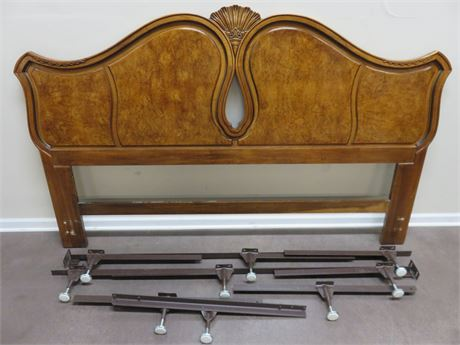 UNIQUE MASTER WOODWORKERS Cherry King Bed