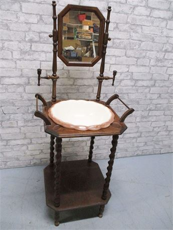 WASH STAND WITH BASIN